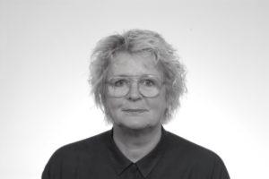 Kirsten Skjerning sort-hvid